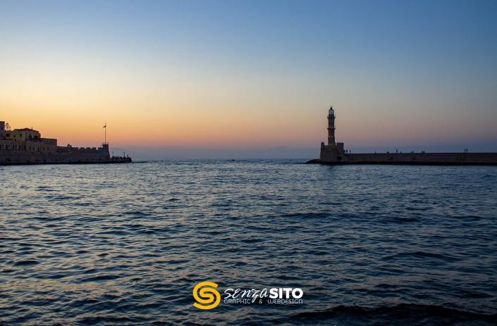 Creta, La Canea al tramonto